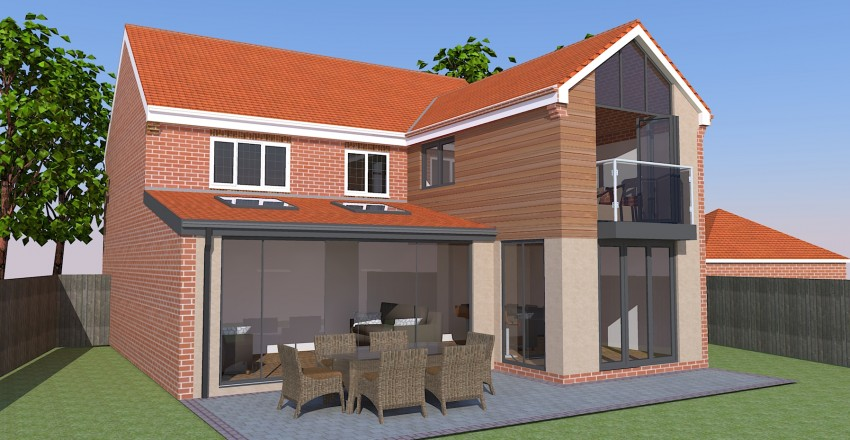architectural house. Two Storey Extensions Architectural House