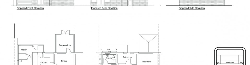 Two Storey Side extension – Shiremoor