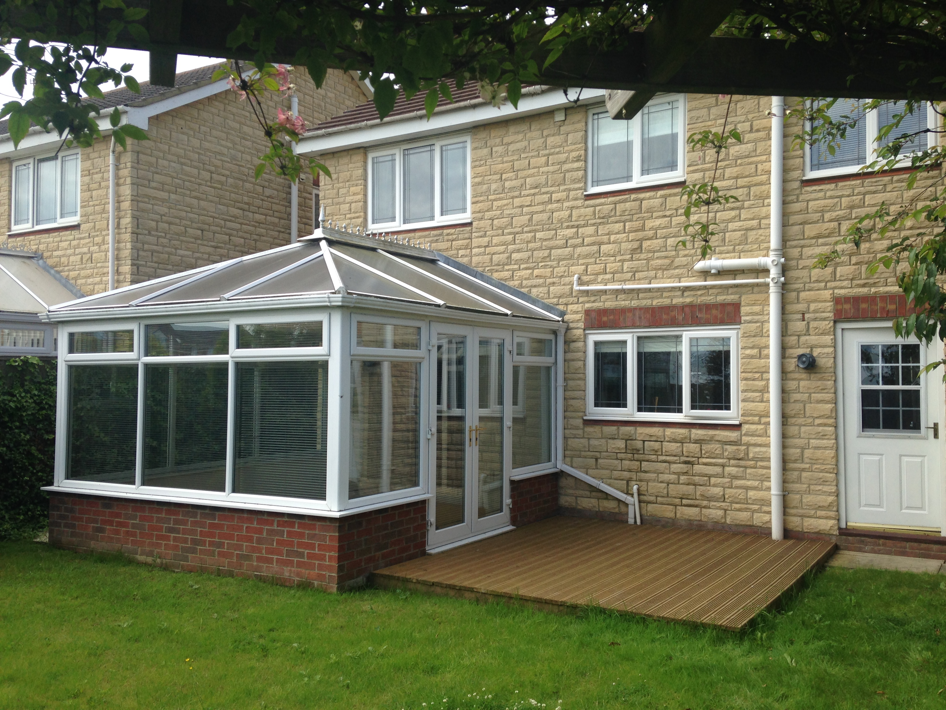 Garden room extension blyth ads architectural for Ad garden rooms