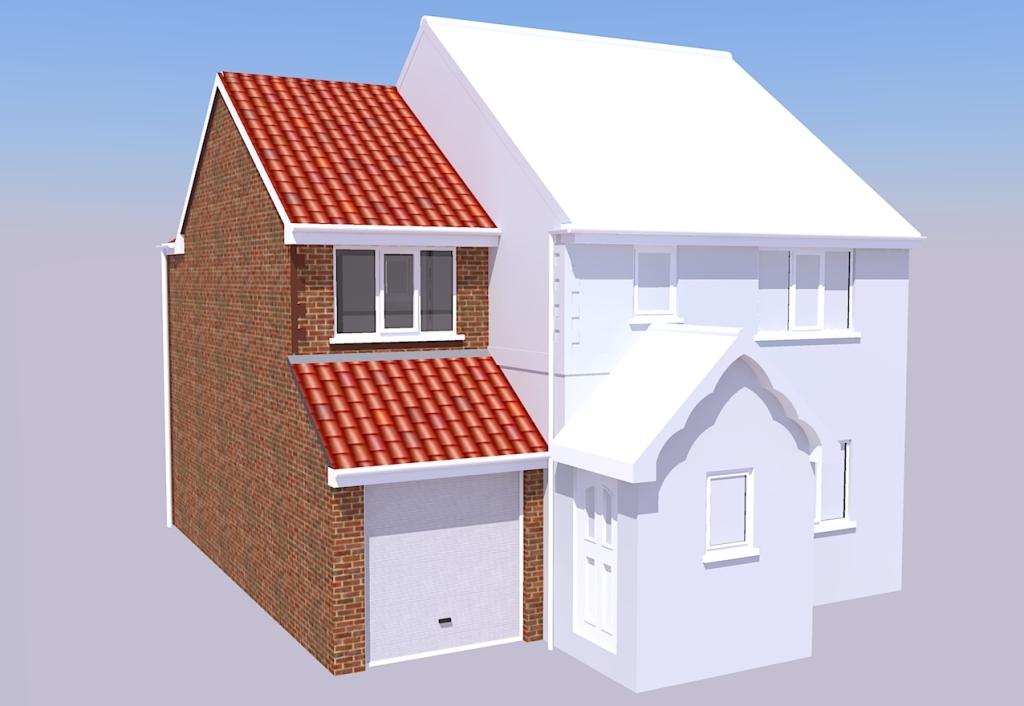 loft conversion ideas semi detached house - Two Storey Side Extension Cramlington ADS Architectural